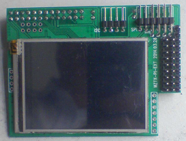 how to use an lcd screen with raspberry pi 5gpio